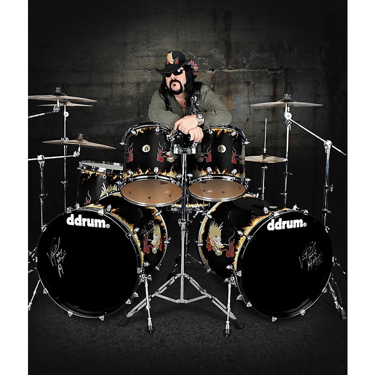 ddrum Vinnie Paul 6-piece Signature Dragon Drum Shell Pack