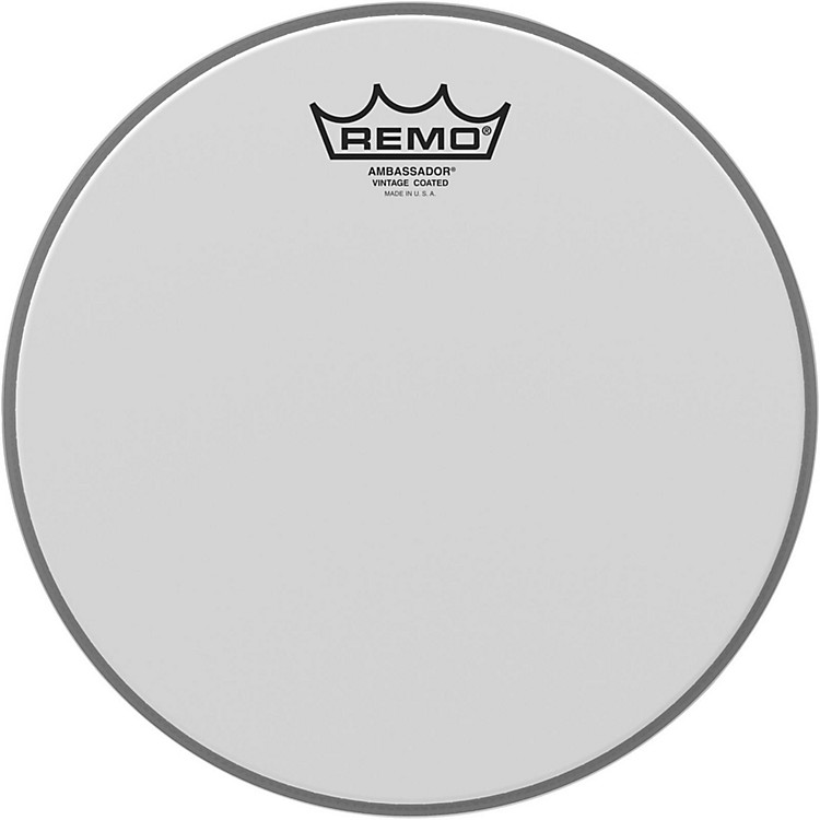 RemoVintage Ambassador Coated Batter Drumhead10 Inch