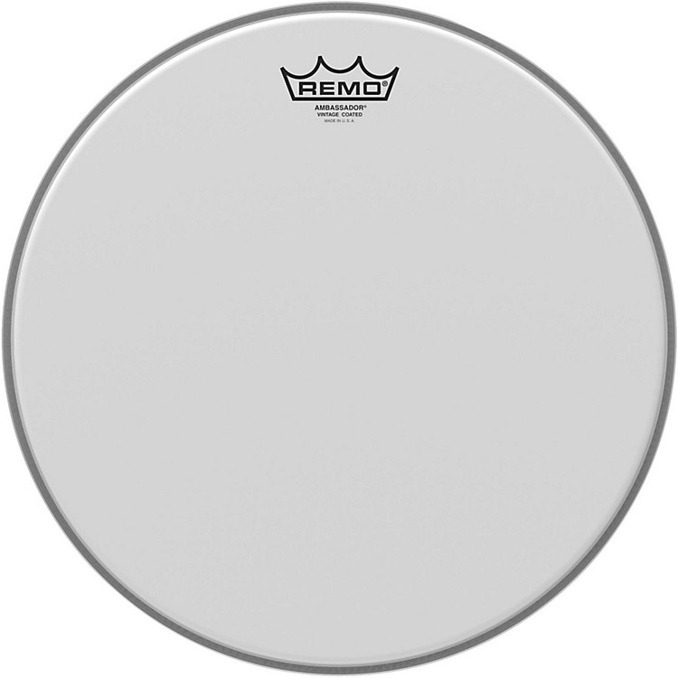RemoVintage Ambassador Coated Batter Drumhead14 Inch