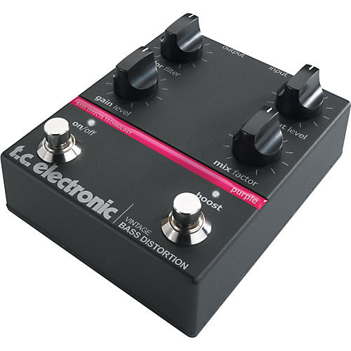 TC Electronic Vintage Bass Distortion Pedal-thumbnail