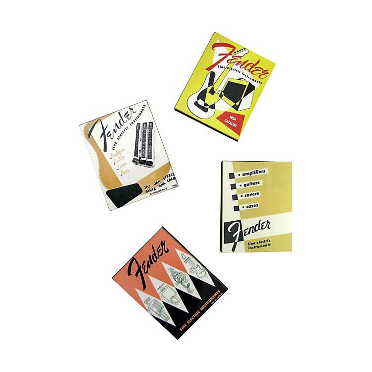 FenderVintage Catalog Magnet Set of 4