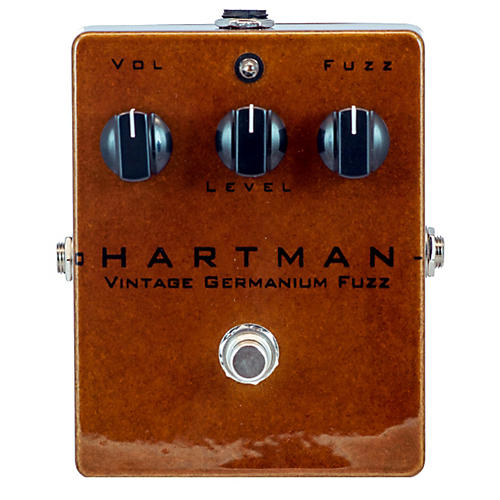 Hartman Electronics Vintage Germanium Fuzz Guitar Effects Pedal