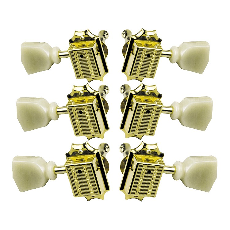 GibsonVintage Gold Machine Heads with Pearloid Buttons