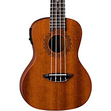 Luna Guitars Vintage Mahogany Concert Acoustic-Electric Ukulele