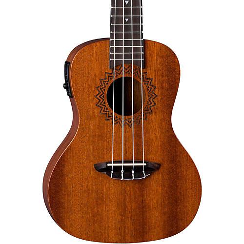 luna guitars vintage mahogany concert acoustic electric ukulele satin natural musician 39 s friend. Black Bedroom Furniture Sets. Home Design Ideas
