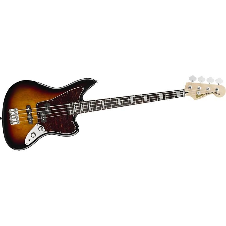 SquierVintage Modified Jaguar Bass3 Color SunburstRosewood Fretboard