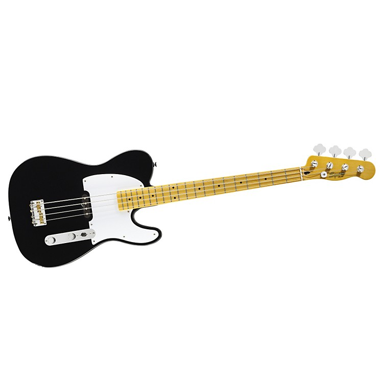 Squier Vintage Modified Telecaster Bass Black Maple Fingerboard