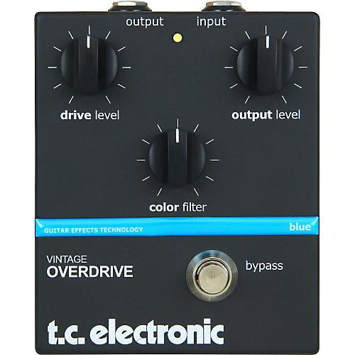 TC Electronic Vintage Overdrive Guitar Effect Pedal-thumbnail