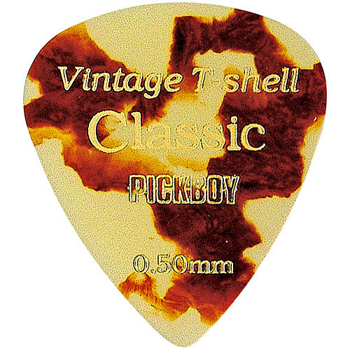 Pick Boy Vintage Pick Cellulose Tortoise-Shell (10-pack)
