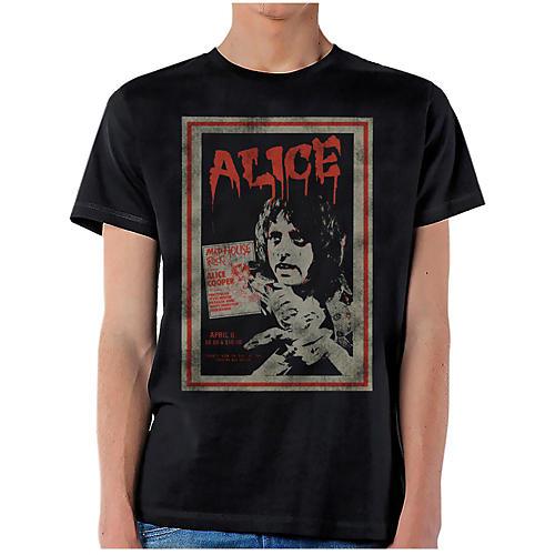 Alice Cooper Vintage Poster T-Shirt