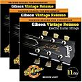 Gibson Vintage Reissue 3-Pack VR11 Electric Guitar Strings  Thumbnail