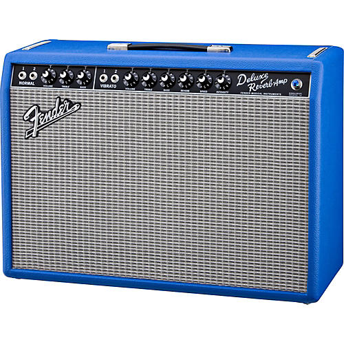 Fender Vintage Reissue '65 Deluxe Reverb Electric Blue 22W 1x12 Tube Guitar Combo Amp