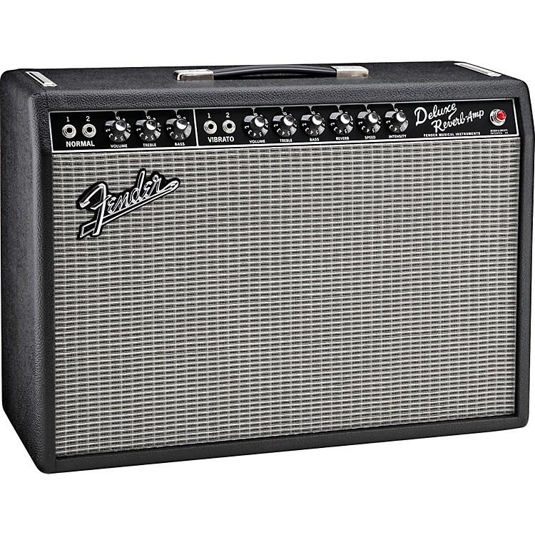 FenderVintage Reissue '65 Deluxe Reverb Guitar Combo AmpBlack
