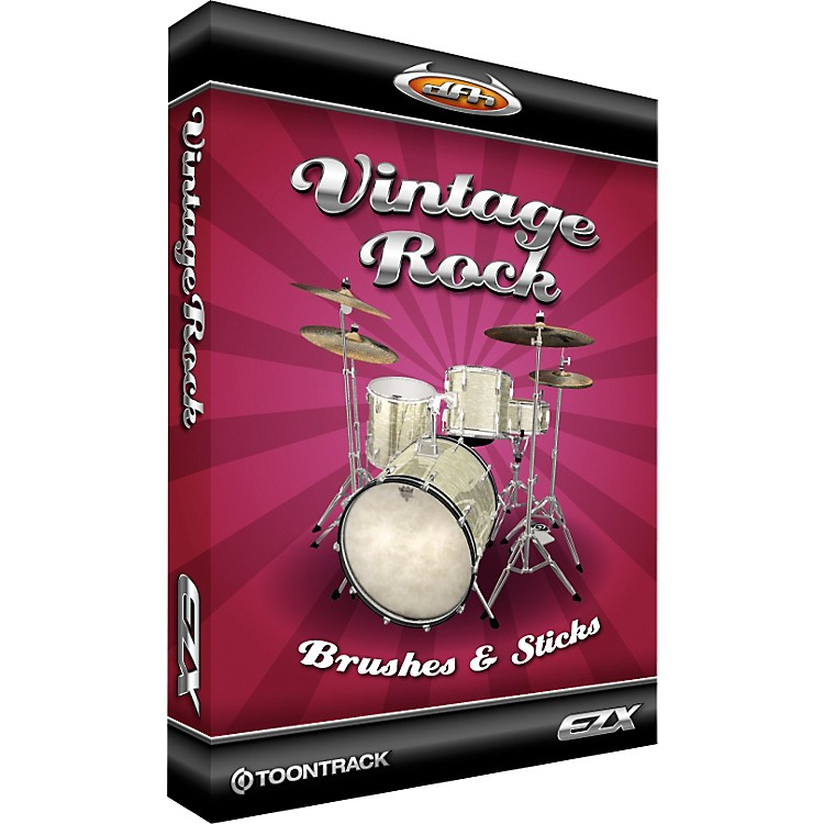 Toontrack Vintage Rock EZX Software Download