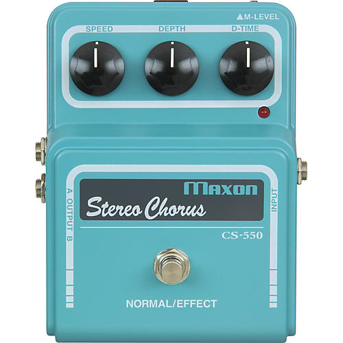 Maxon Vintage Series CS550 Stereo Chorus Pedal