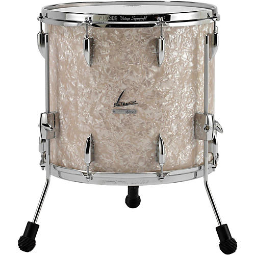 Sonor vintage series floor tom 16 x 14 in vintage pearl for 16 x 12 floor tom
