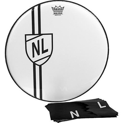 Remo Vintage Shield Graphic Bass Drumhead