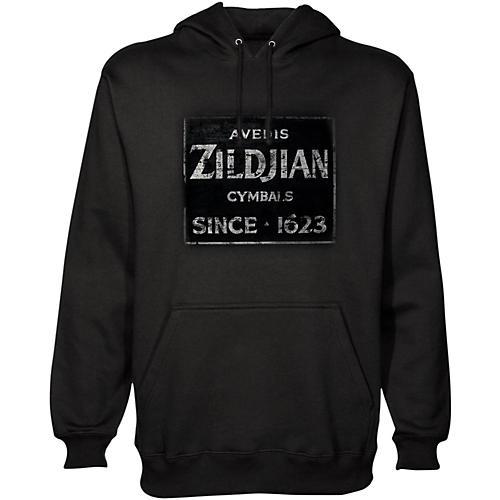 Zildjian Vintage Sign Pullover Hoodie Black X-Large