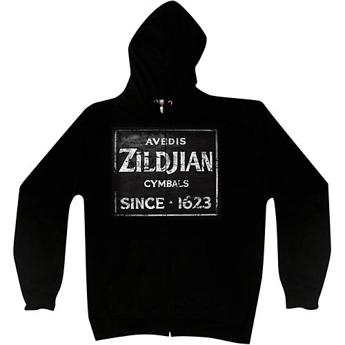 Zildjian Vintage Sign Zip Hoodie