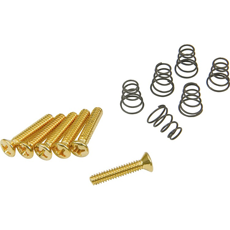 DiMarzioVintage Style Single Coil Mounting Hardware KitGold
