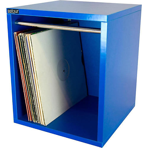 Sefour Vinyl Record Carry Box Bass Blue