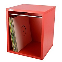 Sefour Vinyl Record Carry Box Dead Reverb Red
