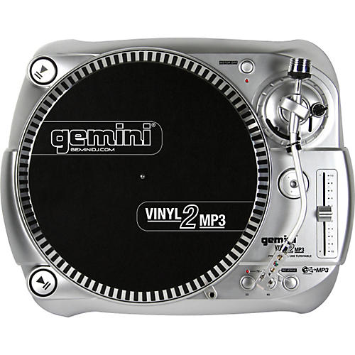 Gemini Vinyl2MP3 USB Turntable