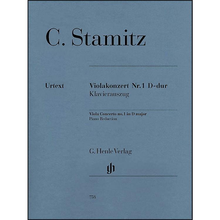 G. Henle VerlagViola Concerto No. 1 D Major By Stamitz