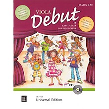 Carl Fischer Viola Debut: 12 Easy Pieces for Beginners Book