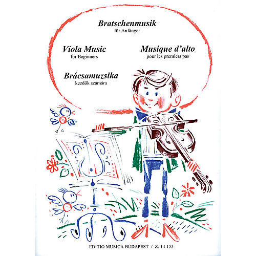 Editio Musica Budapest Viola Music for Beginners EMB Series by Various-thumbnail