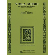 Music Sales Viola Music for Concert and Church (with Piano Accompaniment) Music Sales America Series