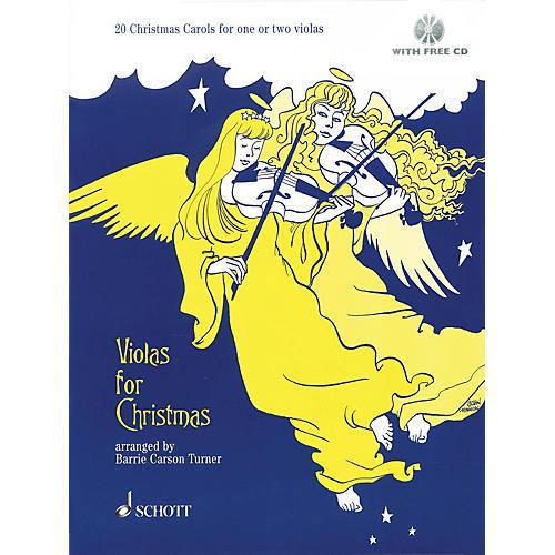 Schott Violas for Christmas (20 Christmas Carols for One or Two Violas) Schott Series-thumbnail