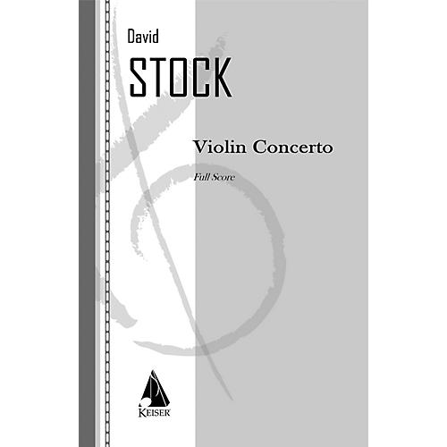 Lauren Keiser Music Publishing Violin Concerto LKM Music Series Composed by David Stock-thumbnail