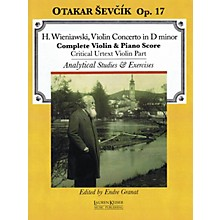 Lauren Keiser Music Publishing Violin Concerto in D minor, Op. 17 LKM Music Series Written by Otakar Sevcik