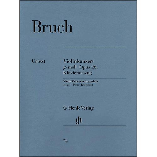 G. Henle Verlag Violin Concerto in G Minor Op. 26 By Bruch