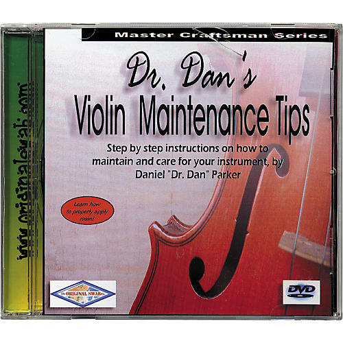 Dr. Dan's Violin Maintenance DVD