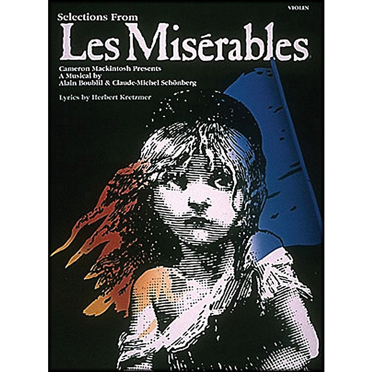 Hal Leonard Violin Selections From Les Miserables