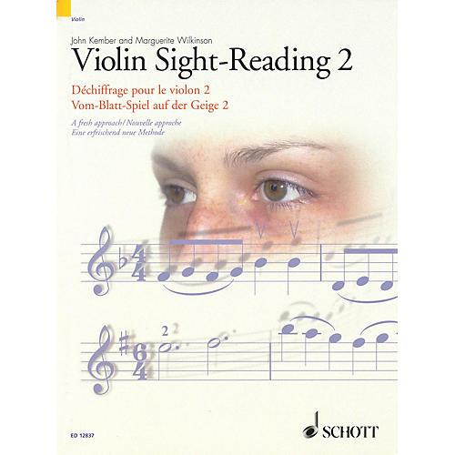 Schott Violin Sight-Reading 2 Schott Series-thumbnail