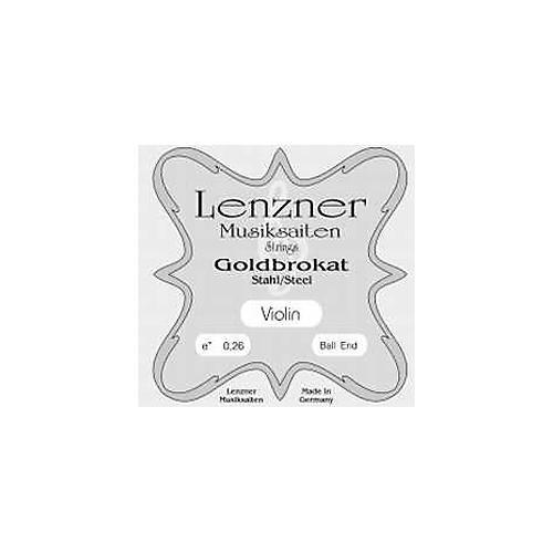 Goldbrokat Violin Strings E, 27 Ga Loop End