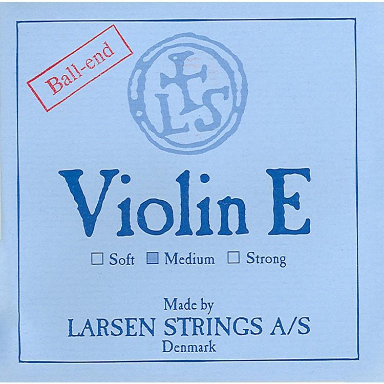 Larsen StringsViolin StringsSet, Steel Ball End E, Aluminum D4/4 Size