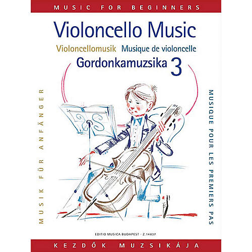 Editio Musica Budapest Violoncello Music for Beginners - Volume 3 EMB Series-thumbnail