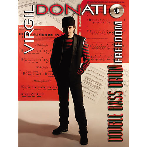Alfred Virgil Donati Double Bass Drum Freedom (Book/CD)-thumbnail