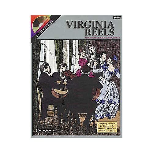 Centerstream Publishing Virginia Reels - Guitar (Book/CD)-thumbnail