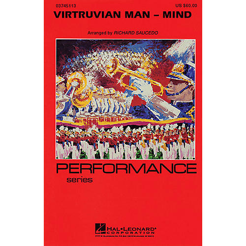 Hal Leonard Virtruvian Man - Part 1 (Mind) Marching Band Level 4 Composed by Richard L. Saucedo-thumbnail