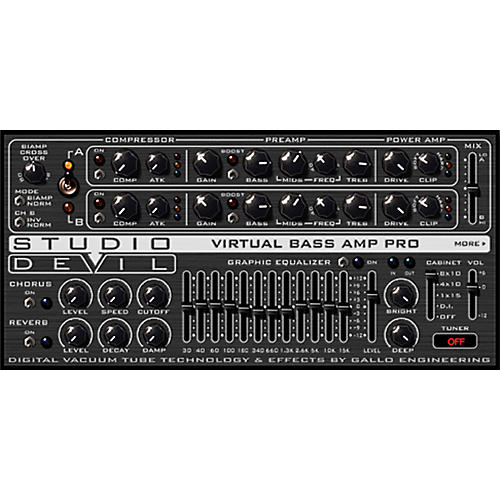 Studio Devil Virtual Bass Amp Pro Software Download