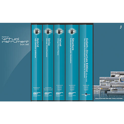 Digidesign Virtual Instrument Box Set-thumbnail