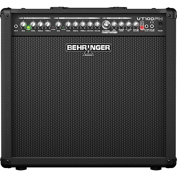 BehringerVirtube VT100FX 100W 1x12 Guitar Combo Amp