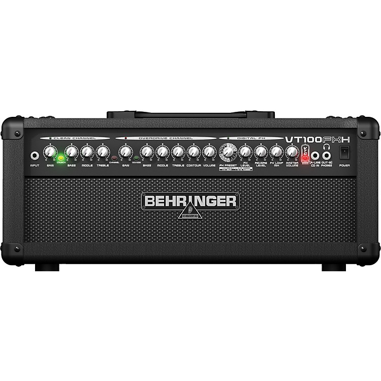 Behringer Virtube VT100FXH 100W Guitar Amplifier Head