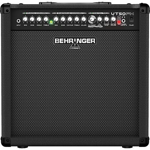 Behringer Virtube VT50FX 60W 1x12 Guitar Combo Amp
