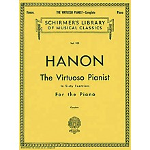 Hal Leonard Virtuoso Pianist in 60 Exercises - Complete